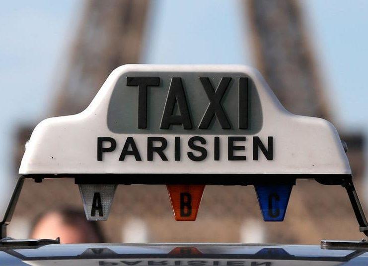 заказать такси в париже